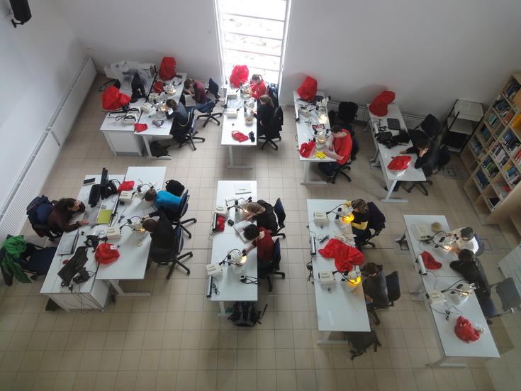 AWI Labor von oben